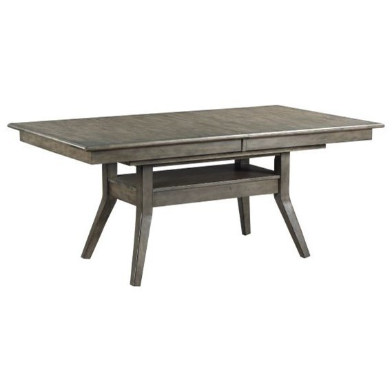 Cascade Dillon Tresle Dining Table by Kincaid Furniture at Johnny Janosik