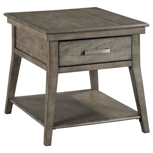 Cascade Lamont End Table by Kincaid Furniture at Johnny Janosik