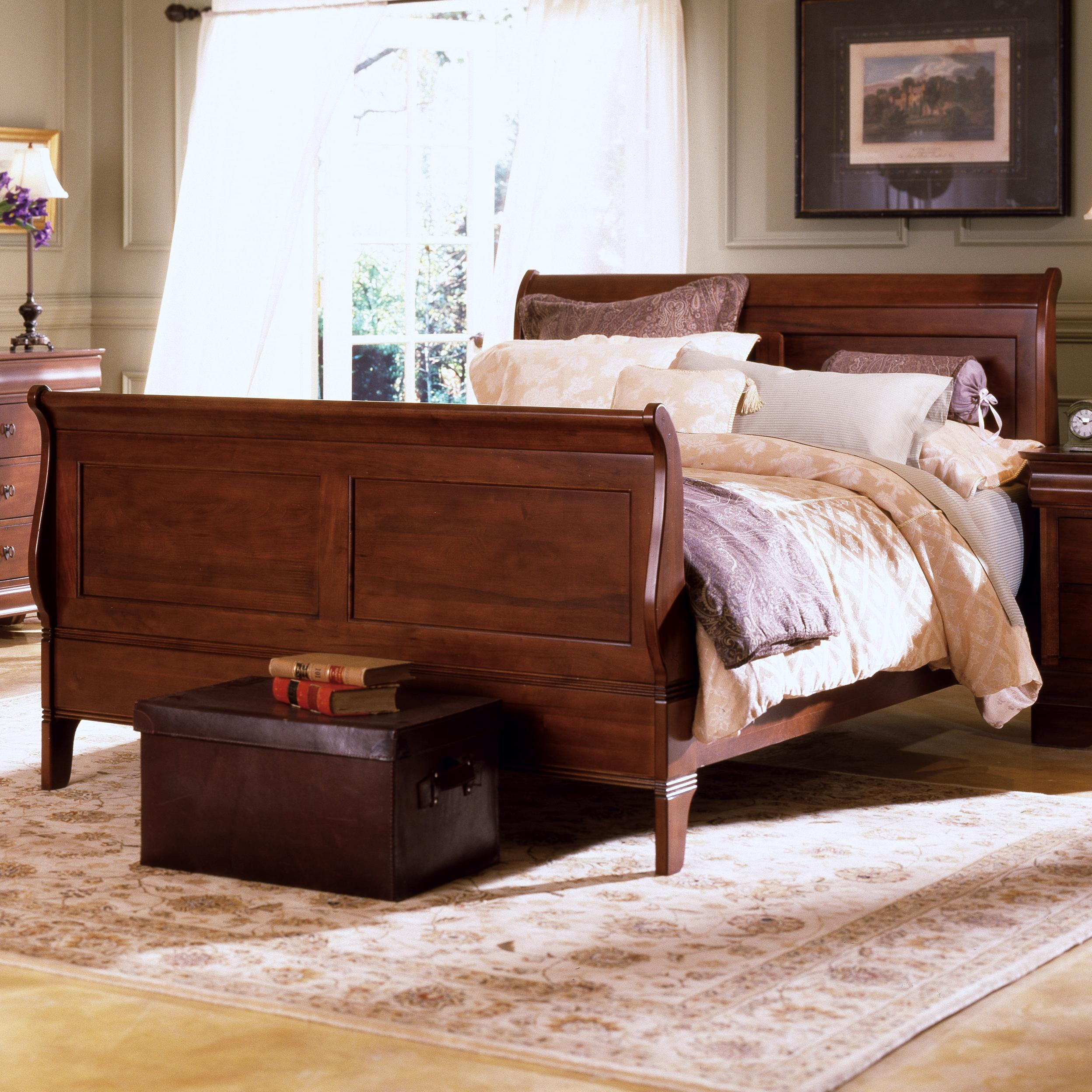 Kincaid Furniture Chateau Royale King Sleigh Bed   AHFA   Sleigh Bed Dealer  Locator