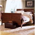 Kincaid Furniture Chateau Royale King Sleigh Bed - 53-152P - Bed Shown May Not Represent Size Indicated
