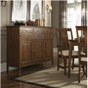 Kincaid Furniture Cherry Park Five Drawers & Three Doors Sideboard