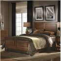 Kincaid Furniture Cherry Park Queen Panel Bed - Item Number: 63-135H+F