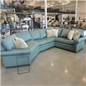 Kincaid Furniture Clearance 3 Piece Cuddler Sectional - Item Number: 445183378