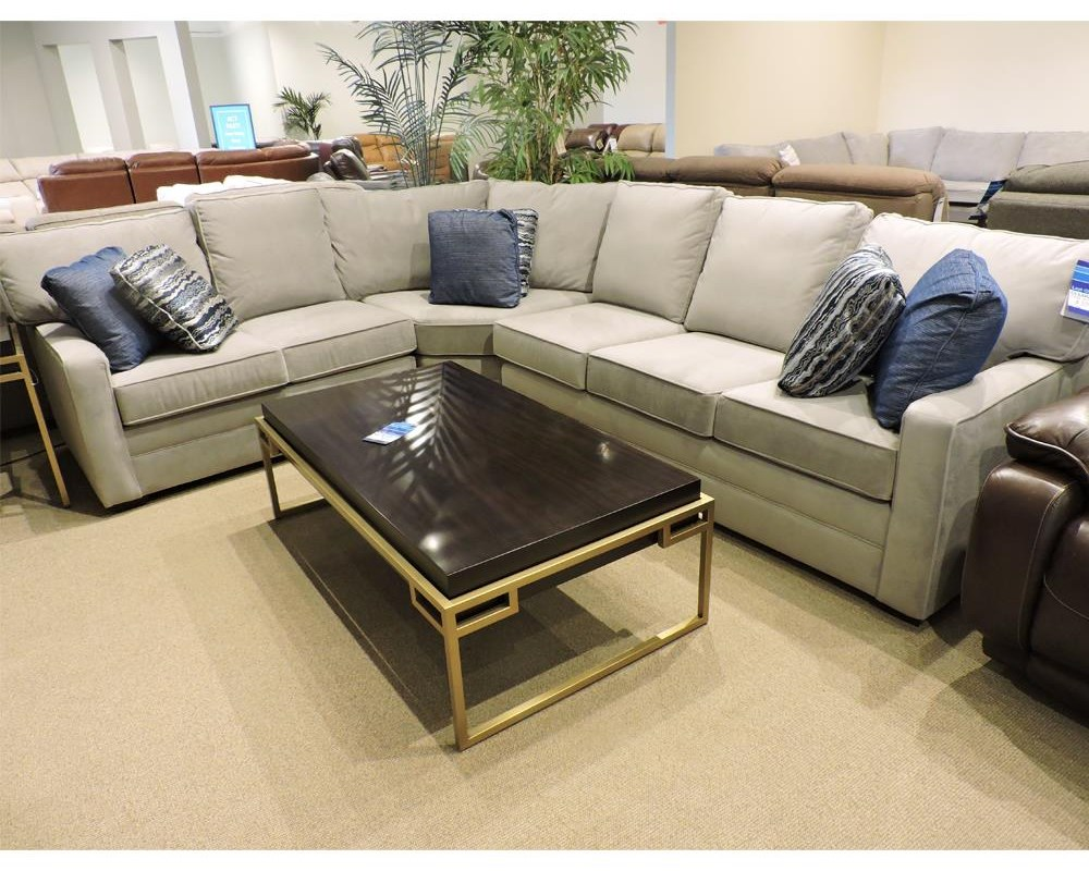 Clearance 3 Piece Sectional by Kincaid Furniture at Belfort Furniture