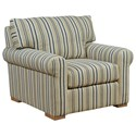 Kincaid Furniture Comfort Select Upholstered Chair - Item Number: S2S-84-Cracker Jack Navy