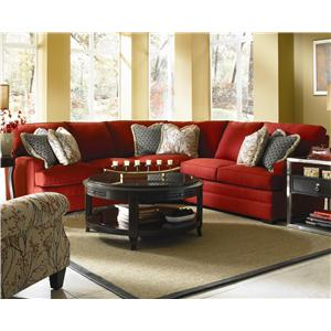 Kincaid Furniture Custom Select Upholstery Custom 3-Piece Sectional