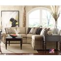 Kincaid Furniture Custom Select Upholstery Custom 3-Piece Sectional Sofa - Item Number: 235-32F+235-34F+235-31F