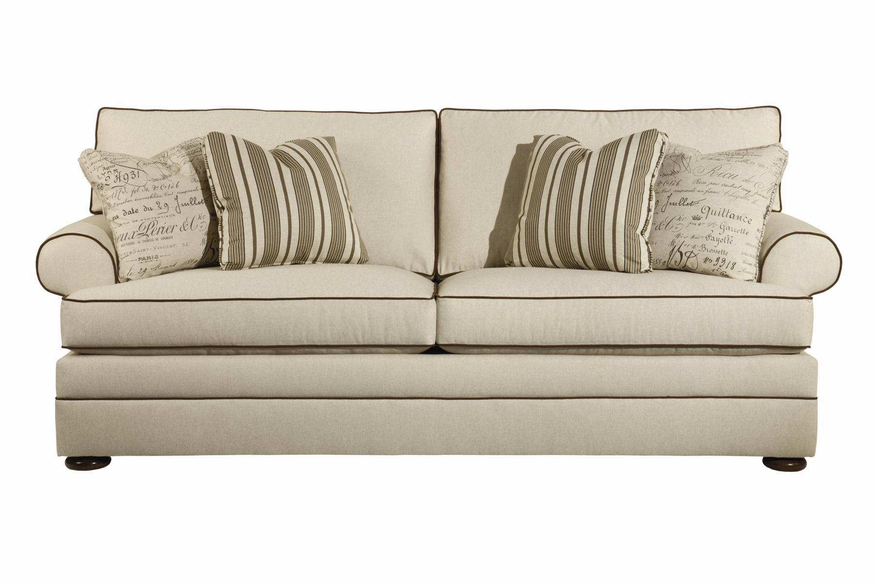 Custom Select Upholstery Custom 2-Seat Sofa by Kincaid Furniture at Johnny Janosik