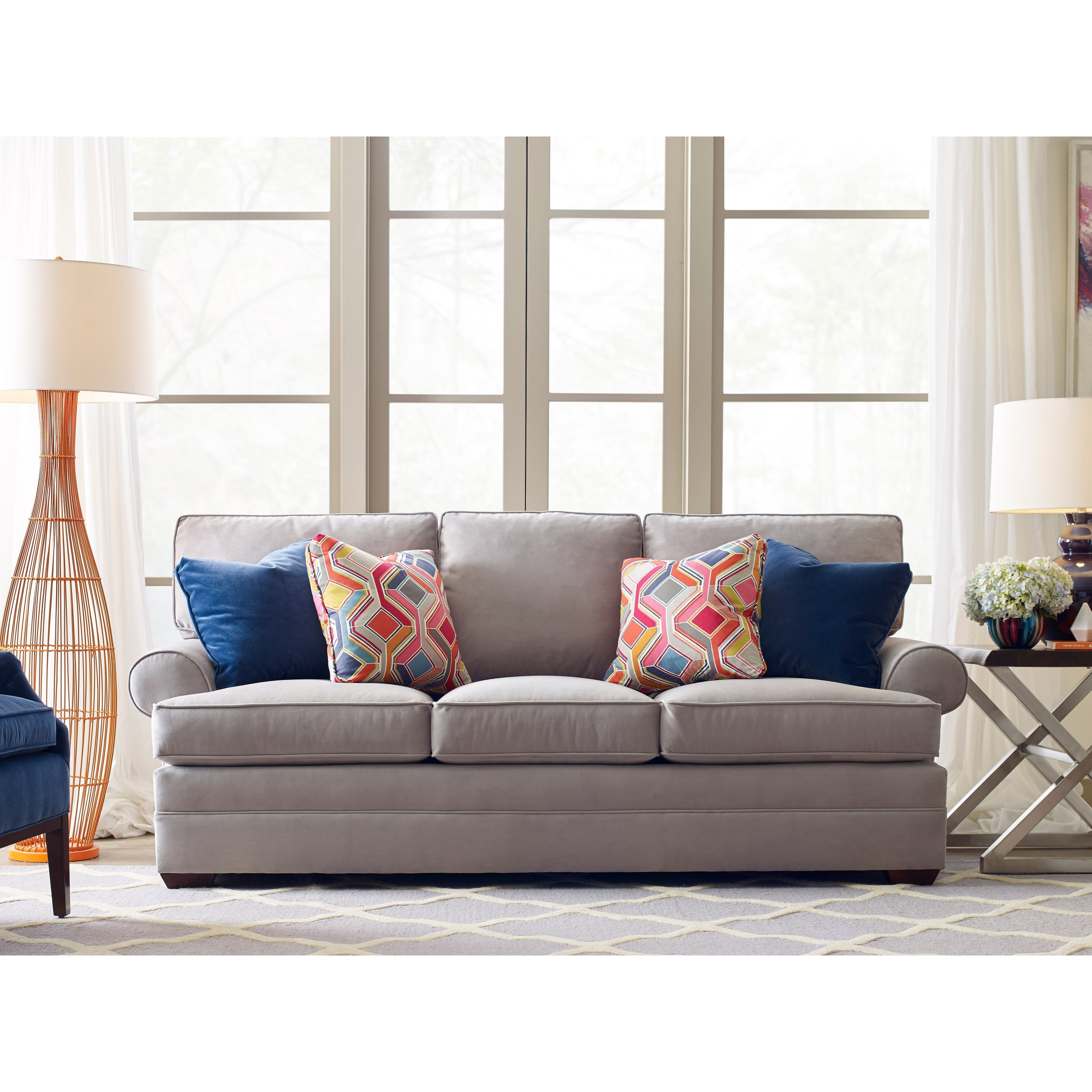 Kincaid Furniture Custom Select Upholstery Custom Stationary Sofa   Item  Number: 876 86T