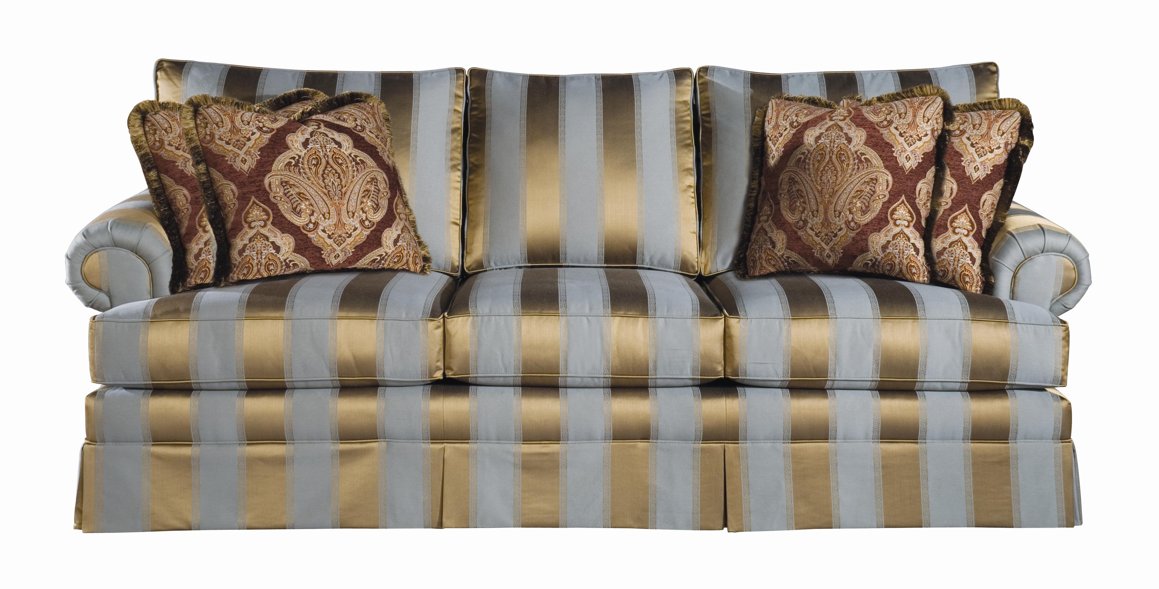 Custom Select Upholstery Custom Stationary Sofa by Kincaid Furniture at Johnny Janosik
