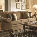 Kincaid Furniture Custom Select Upholstery Small Sofa - Item Number: 965-83T-Dudley Burlap