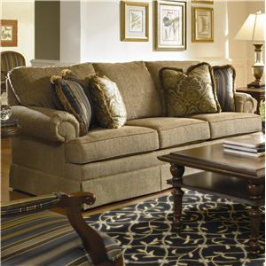 Kincaid Furniture Custom Select Upholstery Custom 3-Seat Sofa