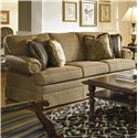 Kincaid Furniture Custom Select Upholstery Custom 3-Seat Stationary Sofa