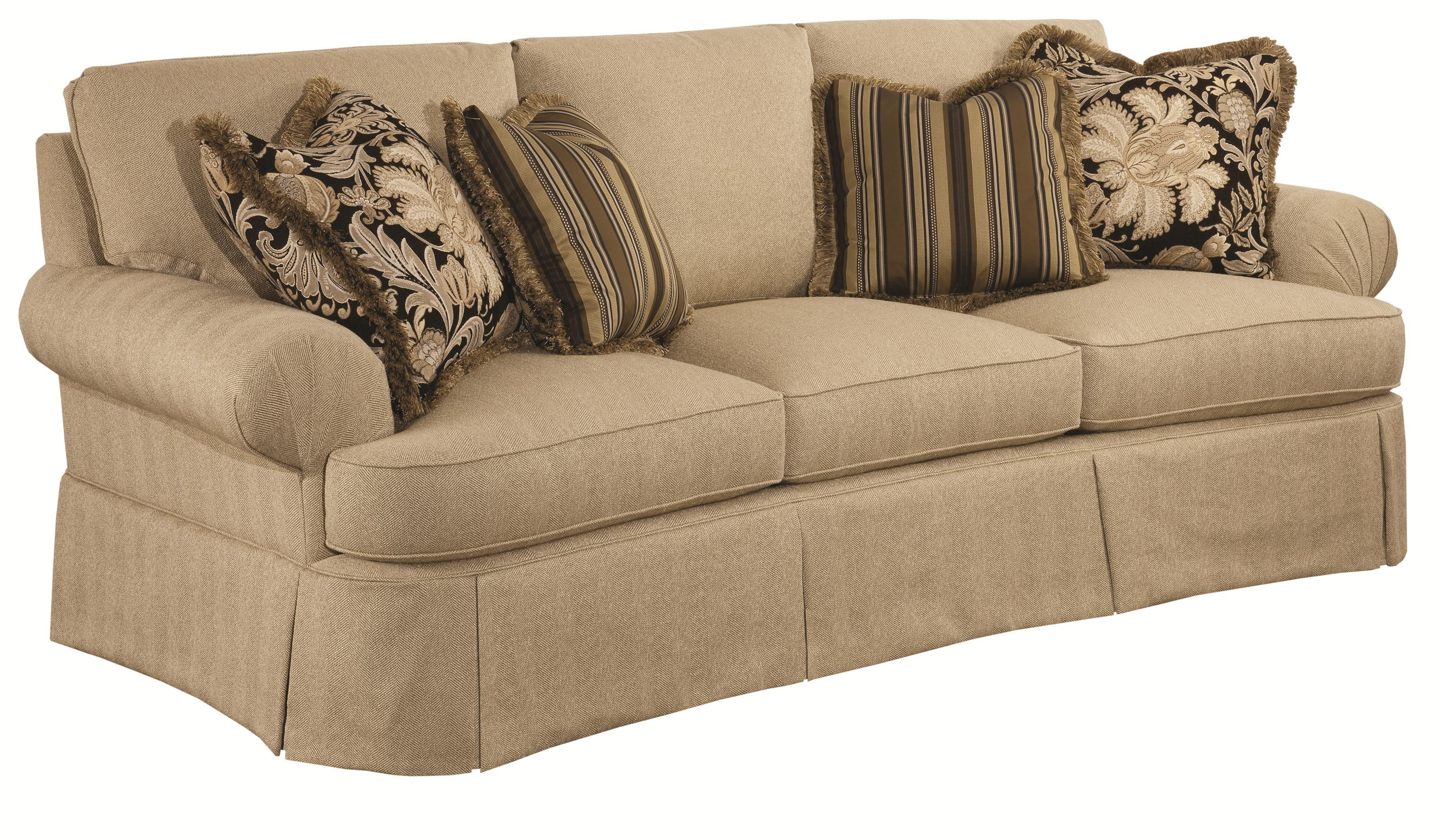 Kincaid Furniture Danbury Traditional Conversation Sofa