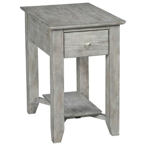 Kincaid Furniture Crossings Chairside End Table