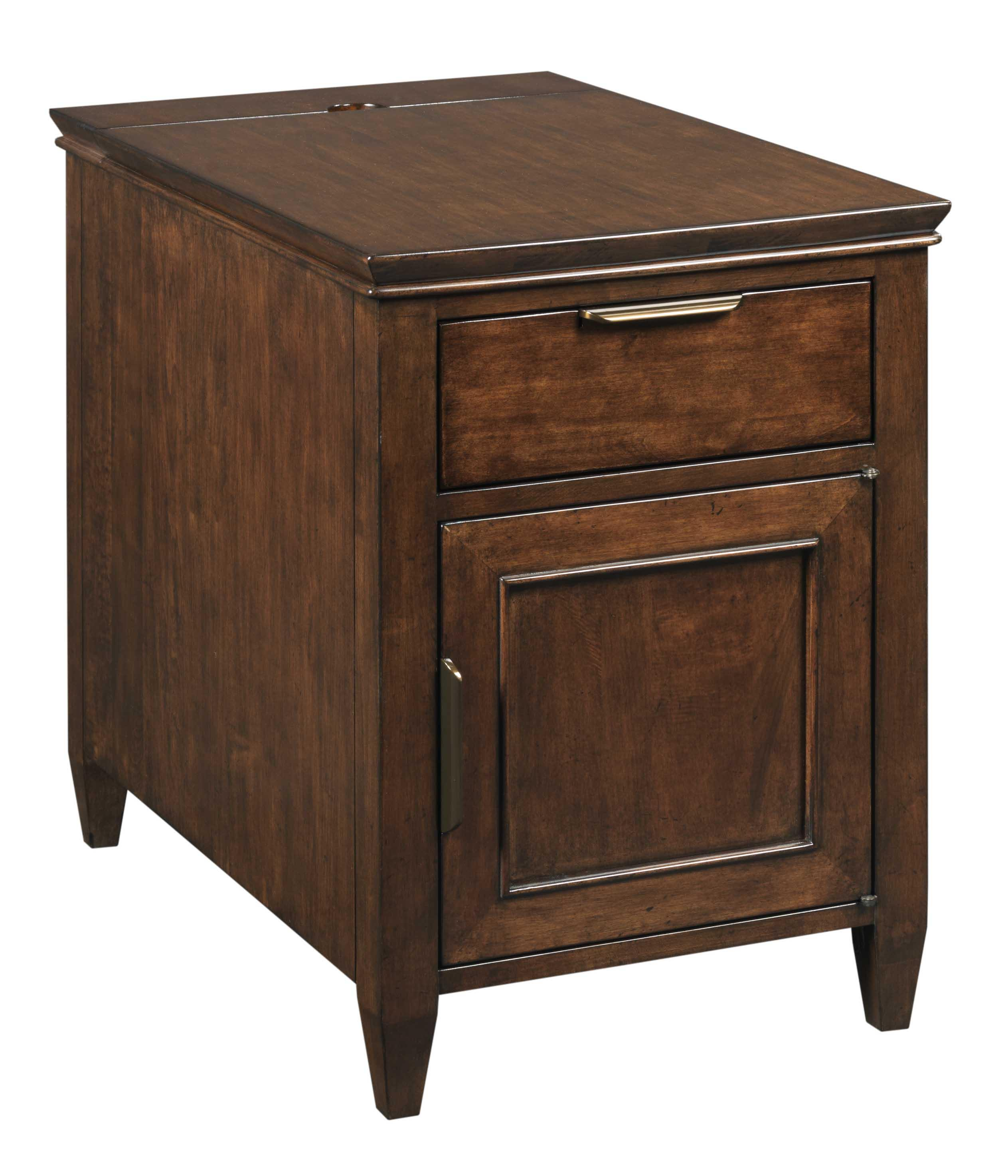 Elise Elise Chairside Chest by Kincaid Furniture at Johnny Janosik
