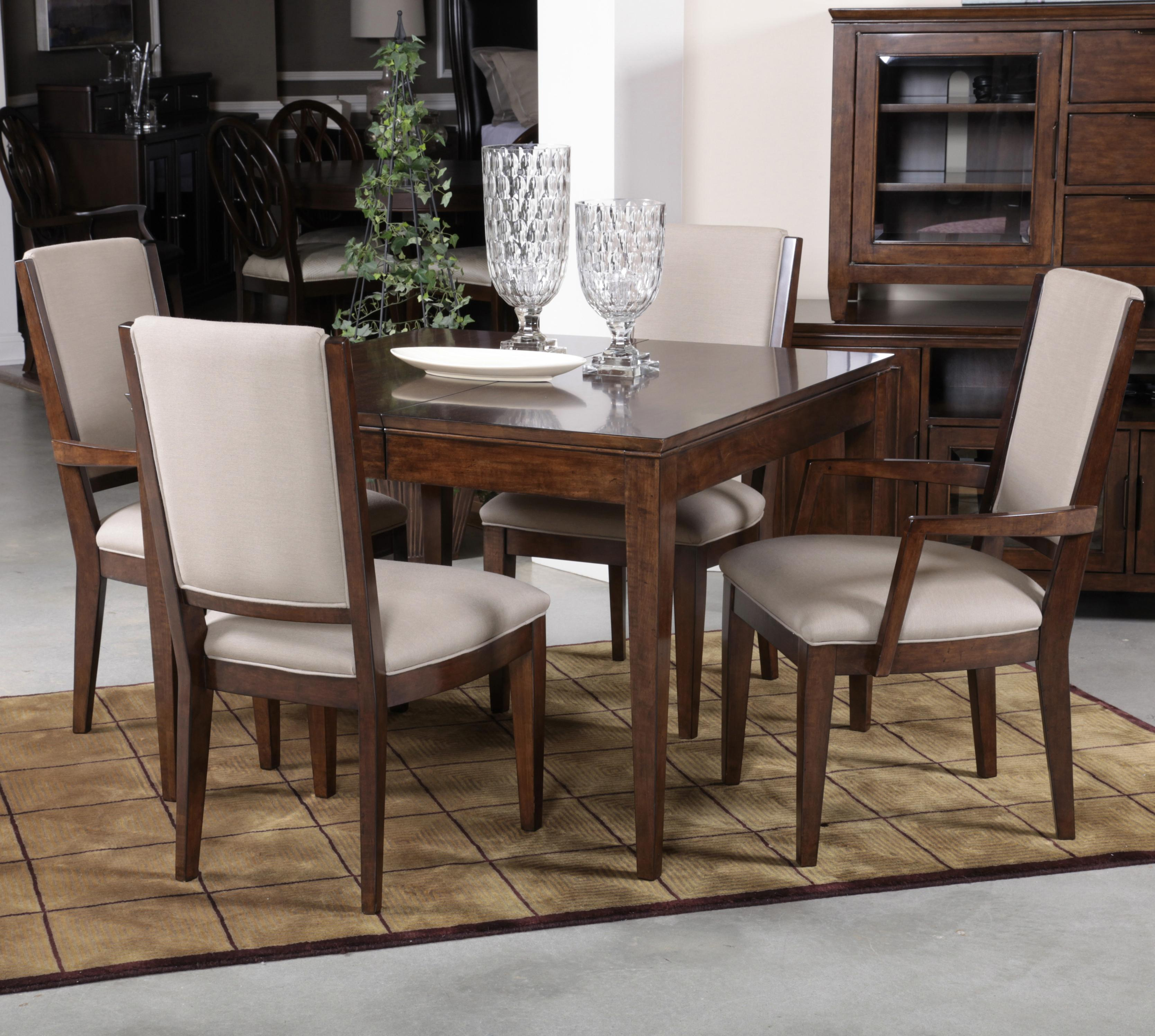 Kincaid Dining Room Set: Kincaid Furniture Elise Five Piece Dining Set With Upholstered Chairs