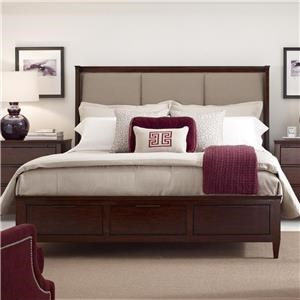 Spectrum King Bed w/ Storage Footboard