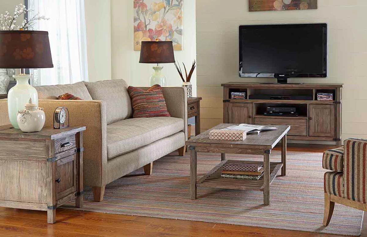 Kincaid Furniture Foundry 59 023 Rustic Weathered Gray Rectangular Cocktail Table Hudson 39 S