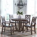 Kincaid Furniture Foundry 5 Pc Dining Set - Item Number: 59-052+2X62+2X62
