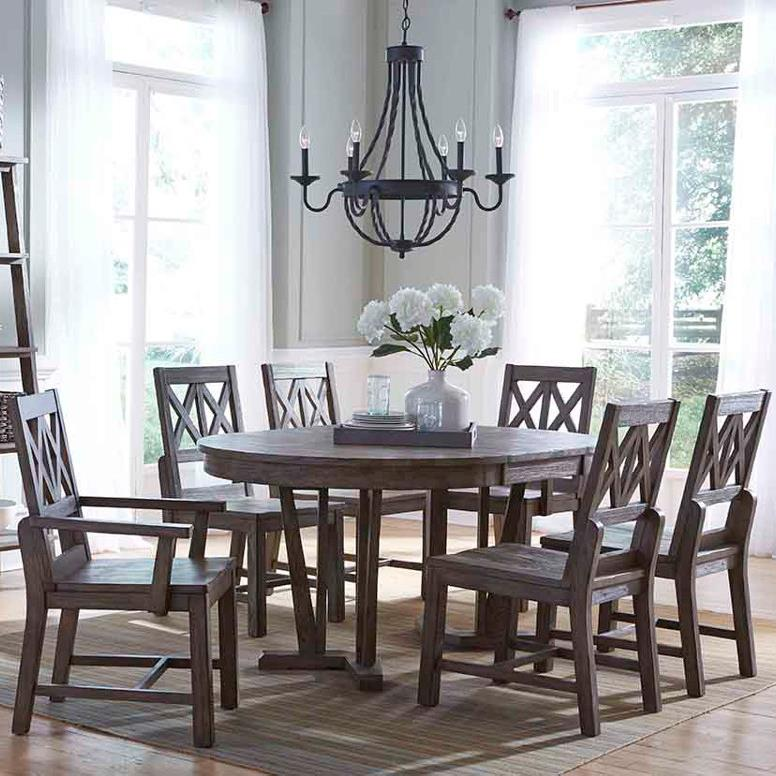 Foundry 7 Pc Dining Set by Kincaid Furniture at Northeast Factory Direct