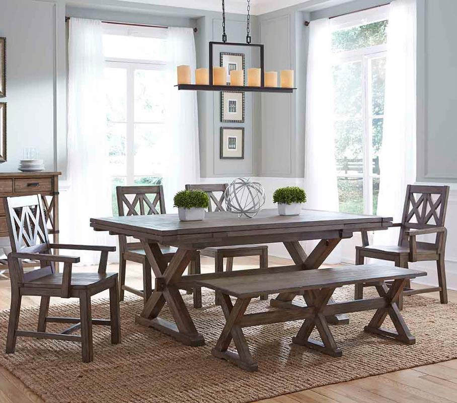 Foundry 6 Pc Dining Set by Kincaid Furniture at Johnny Janosik