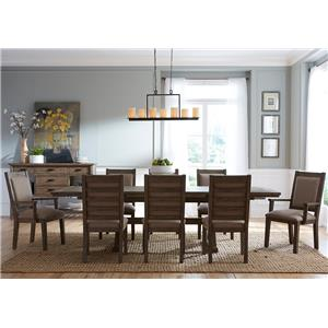 Kincaid Furniture Foundry 9 Pc Dining Set
