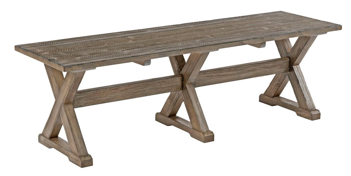 Foundry Dining Bench by Kincaid Furniture at Northeast Factory Direct