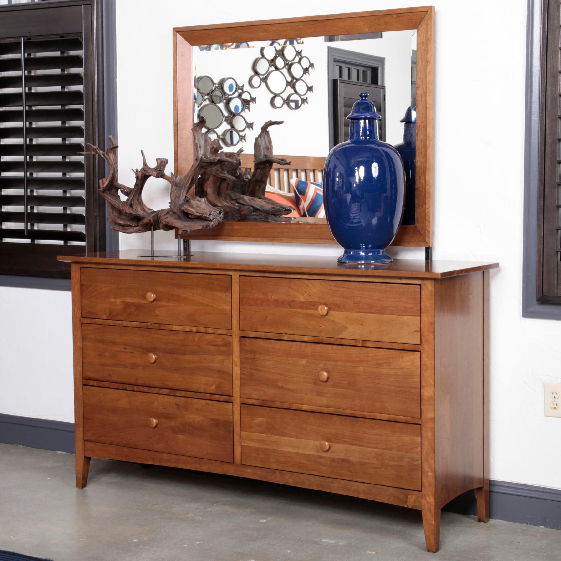 Kincaid Furniture Gatherings Dresser and Mirror - Item Number: 44-0911+44-1410
