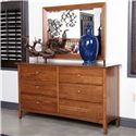 Kincaid Furniture Gatherings Latham Dresser with 6 Drawers - 44-0911