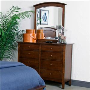 Kincaid Furniture Gatherings Dresser and Mirror