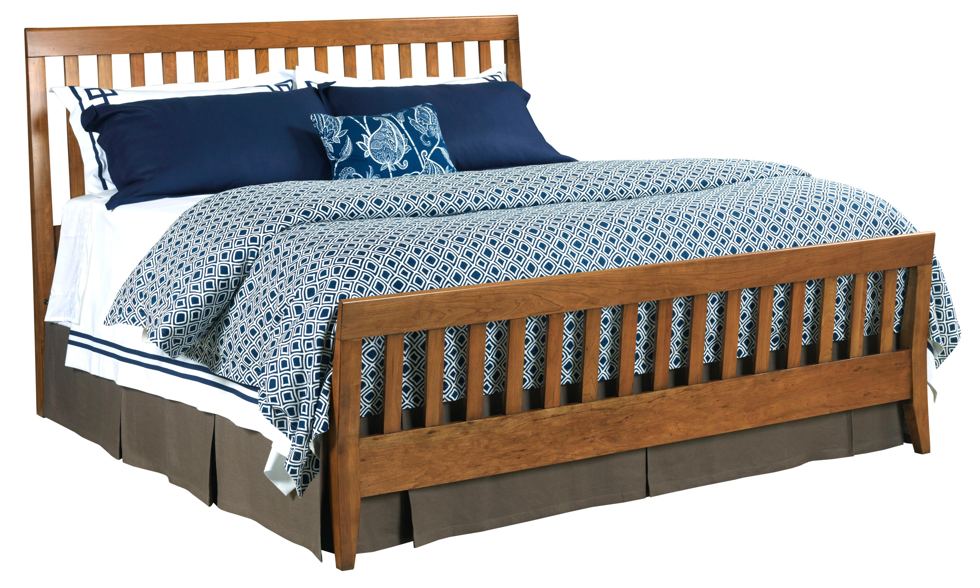 Kincaid Furniture Gatherings Queen Slat Bed - Item Number: 44-2710