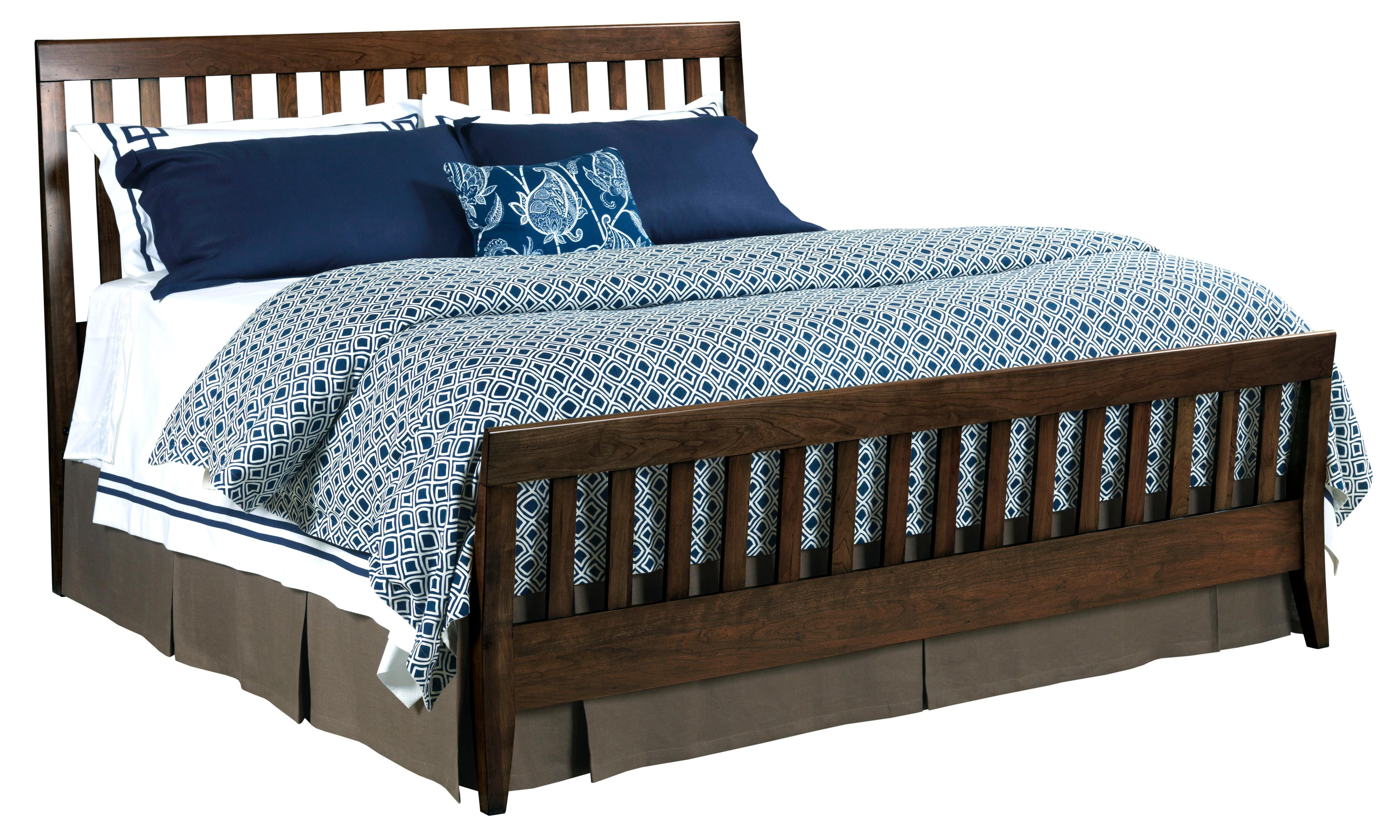 Kincaid Furniture Gatherings Queen Slat Bed - Item Number: 44-2730