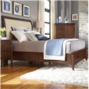 Kincaid Furniture Gatherings Queen Meridian Bed with Storage Footboard - Item Number: Uph 44-3830