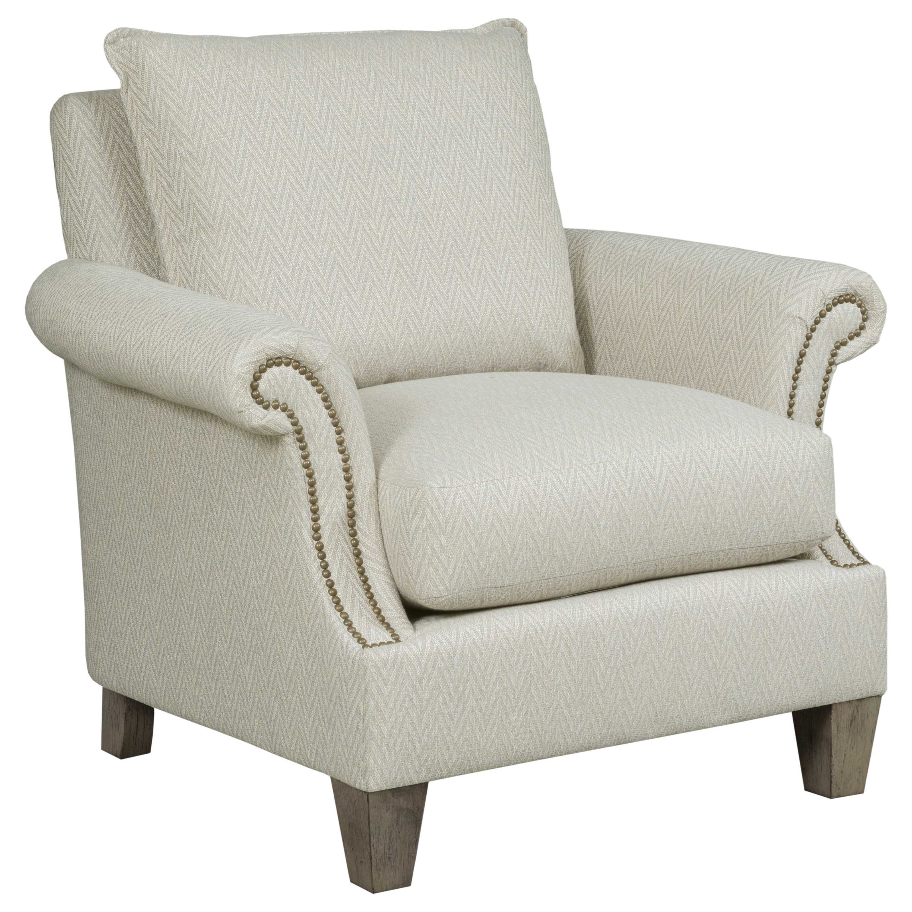 Greyson Upholstered Chair by Kincaid Furniture at Johnny Janosik
