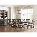 Kincaid Furniture Greyson Formal Dining Room Group - Item Number: 608 Dining Room Group 4