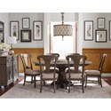Kincaid Furniture Greyson Formal Dining Room Group - Item Number: 608 Dining Room Group 6