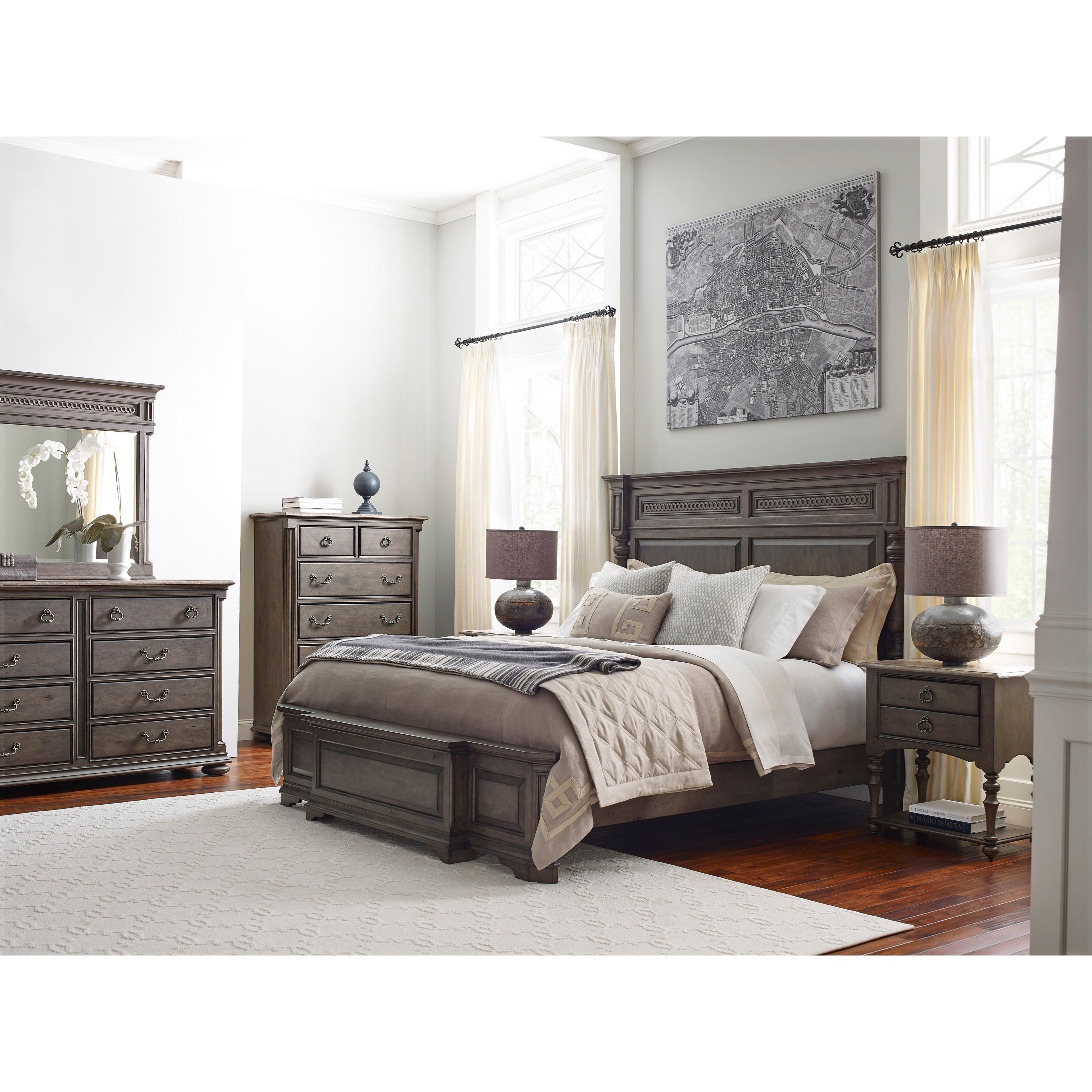 Kincaid Furniture Greyson King Bedroom Group - Item Number: 608 K Bedroom  Group 1
