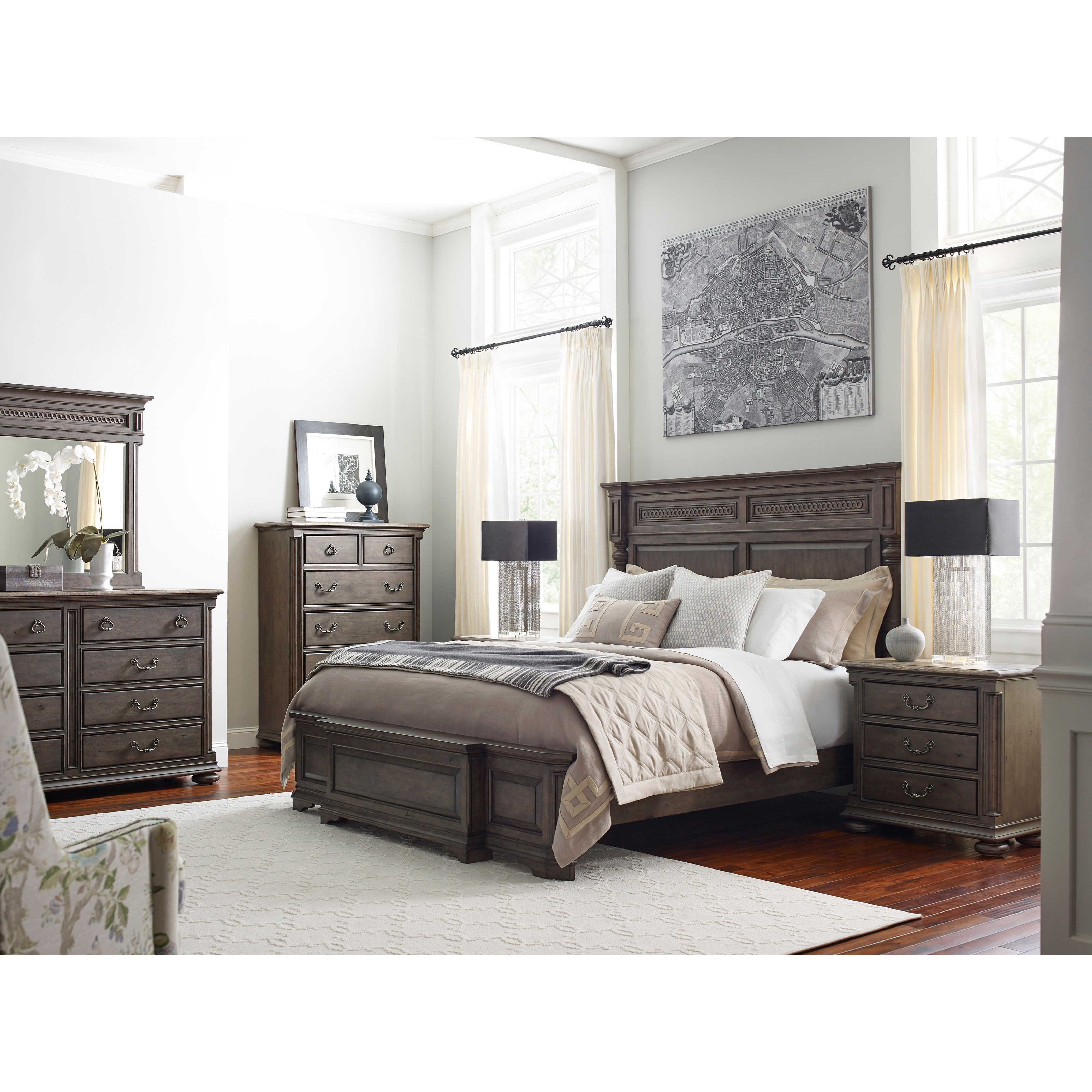 Greyson Queen Bedroom Group by Kincaid Furniture at Northeast Factory Direct