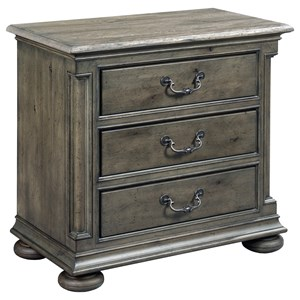 Kincaid Furniture Greyson Aldine Three Drawer Nightstand