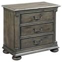 Kincaid Furniture Greyson Aldine Three Drawer Nightstand - Item Number: 608-420