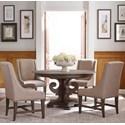Kincaid Furniture Greyson 5 Pc Kitchen Dining Set - Item Number: 608-701P+4X608-620