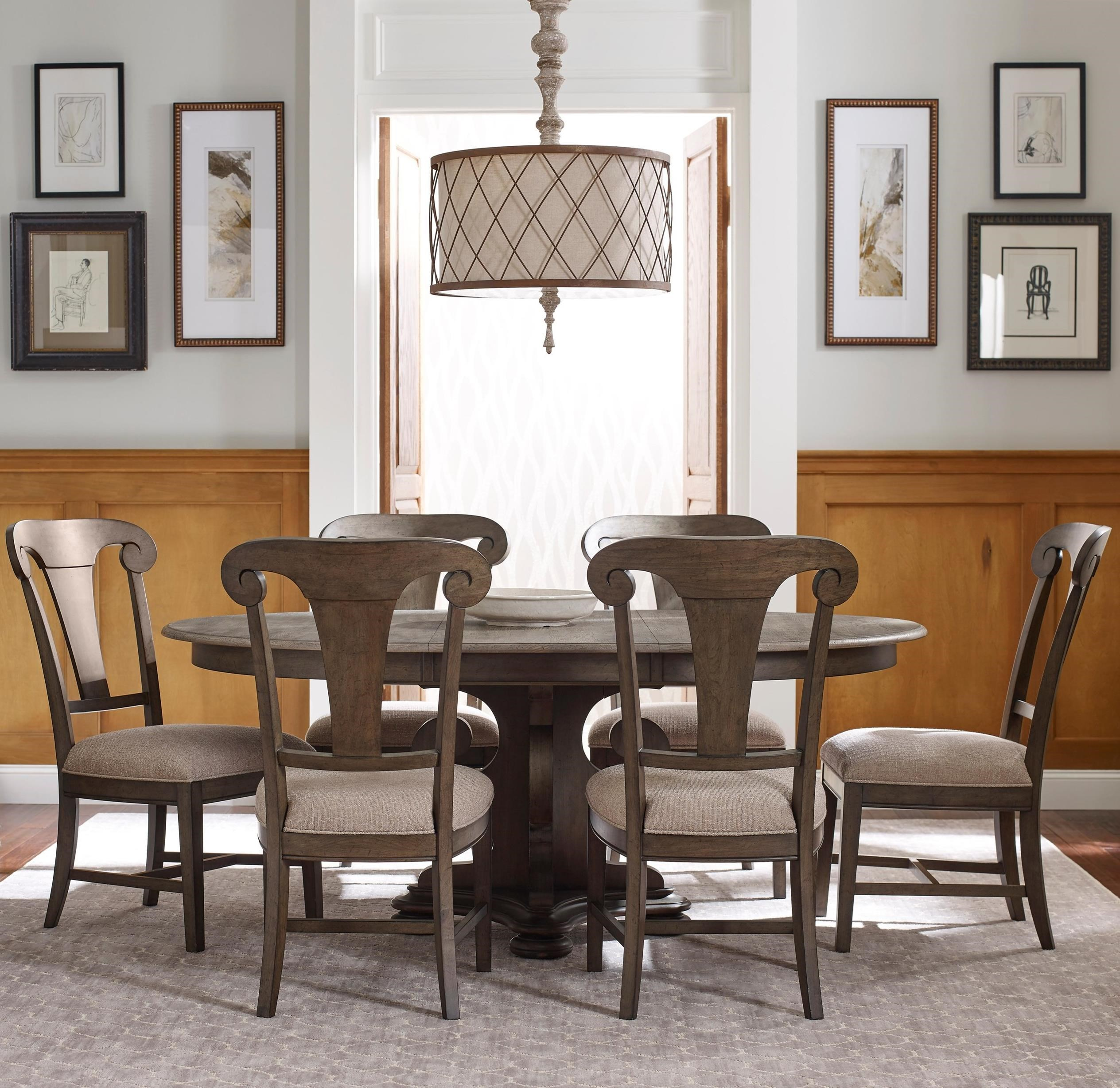 Kincaid Furniture Greyson 7 Pc Dining Set