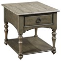 Kincaid Furniture Greyson Winslow Drawer End Table - Item Number: 608-915