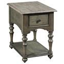 Kincaid Furniture Greyson Wheeler Chairside Table - Item Number: 608-916