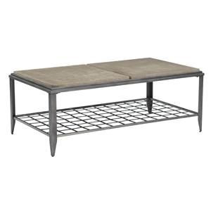 Kincaid Furniture Grid Rectangular Cocktail Table