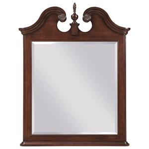 Kincaid Furniture Hadleigh Vertical Pediment Mirror