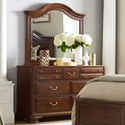 Kincaid Furniture Hadleigh Dresser and Mirror Set - Item Number: 607-131+607-020