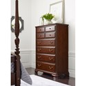 Kincaid Furniture Hadleigh Traditional Eight Drawer Chest with Two Divided Drawers