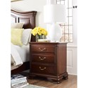 Kincaid Furniture Hadleigh Traditional Three Drawer Nightstand
